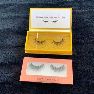 2 sets of eyelashes Lily lashes/Lashaholic